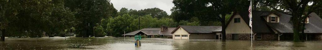Flooded neighborhood 1